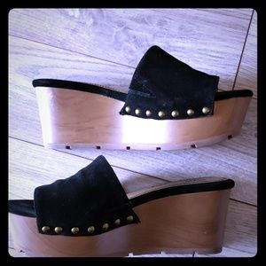 Splendid wedge sandals size 5